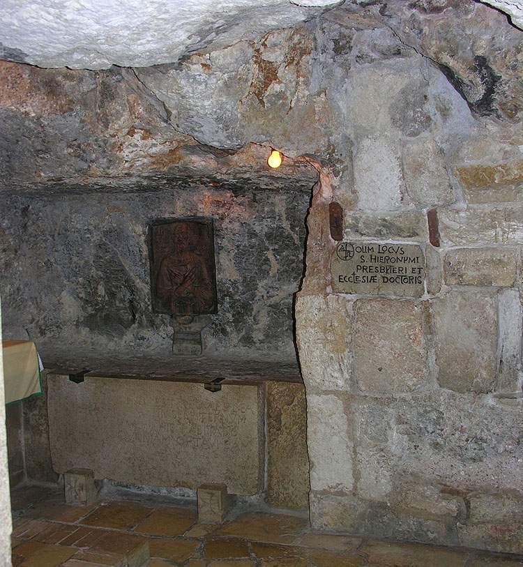 Jezus Chrystus Grota Grota świętego Hieronima Betlejem ciekawostki