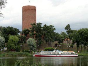 jezioro Gopło Mysia Wieża Kruszwica ciekawostki atrakcje