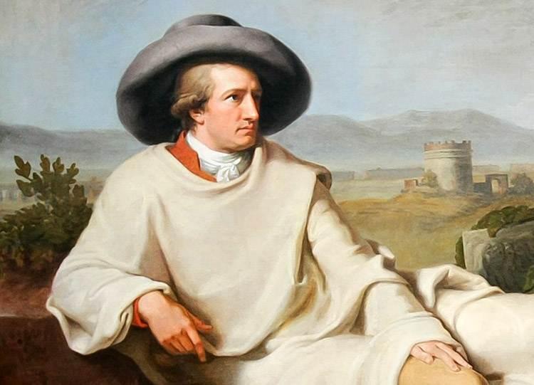Johann Wolfgang von Goethe cytaty ciekawostki biografia