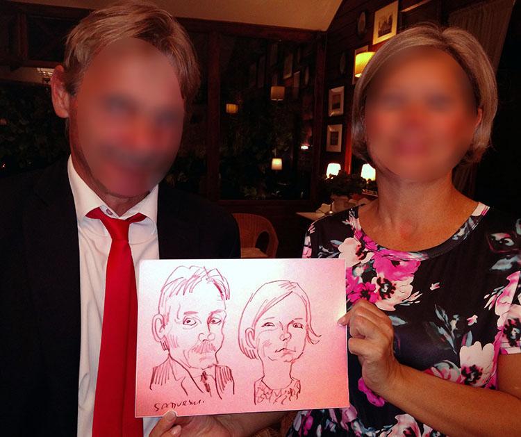 karykatury karykaturzysta na wesele event atrakcje
