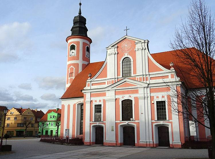 kościół Chocianów ciekawostki atrakcje