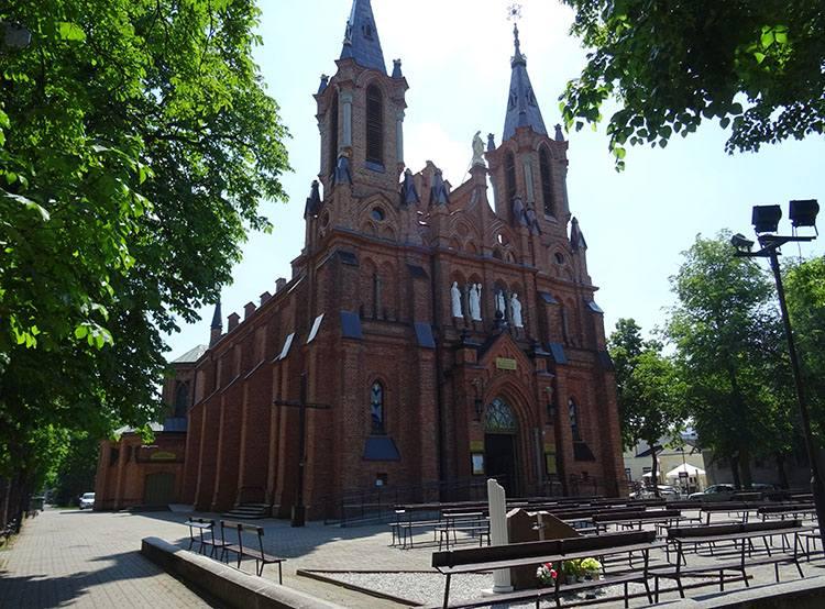 kościół Ciechocinek ciekawostki atrakcje