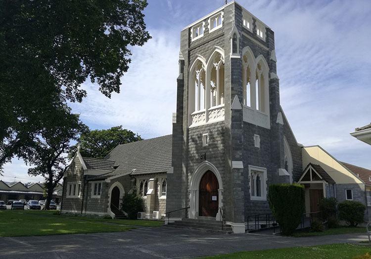 kościół ciekawostki Nowa Zelandia atrakcje Gore