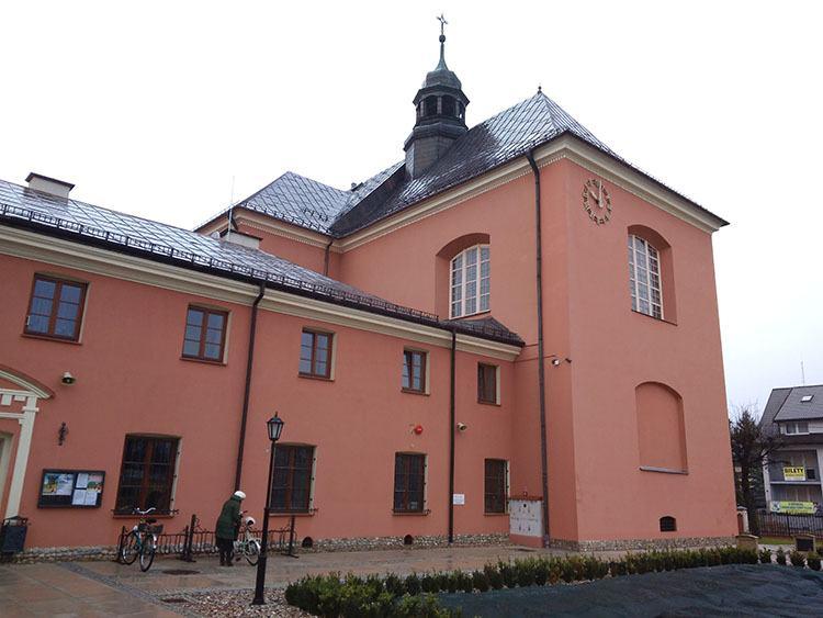 kościół Ostrołęka ciekawostki atrakcje