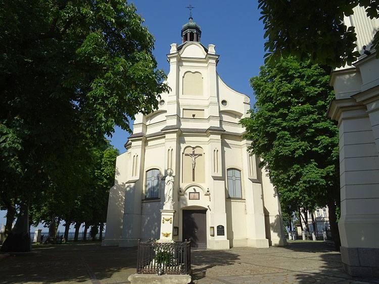 kościół zabytki atrakcje Płock ciekawostki