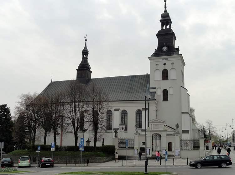 kościół bernardynów Piotrków Trybunalski ciekawostki