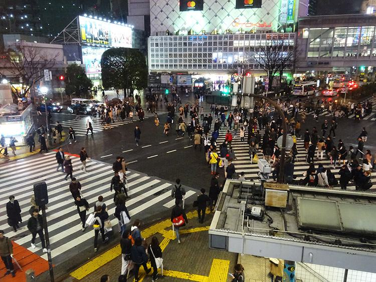 miasto Tokio ciekawostki Shibuya Japonia