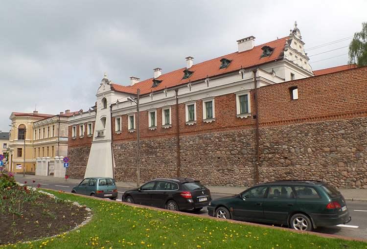 mury miejskie Piotrków Trybunalski ciekawostki