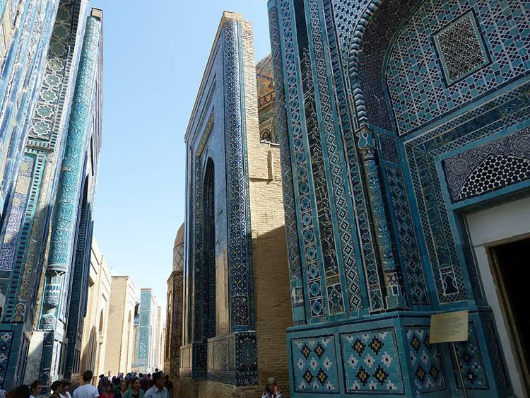 nekropolia Shihizinda Samarkanda Uzbekistan ciekawostki atrakcje