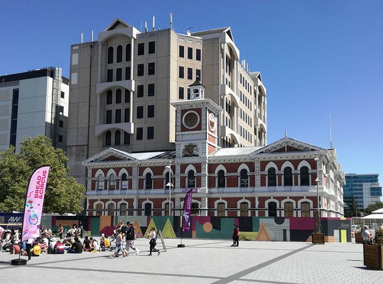 poczta Christchurch Nowa Zelandia ciekawostki