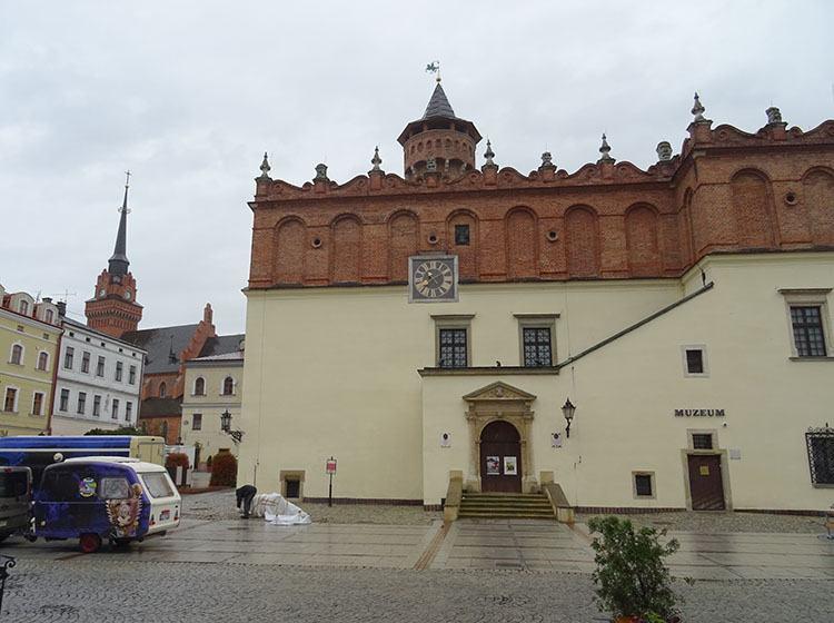 ratusz muzeum Tarnów ciekawostki zabytki atrakcje