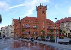 ratusz rynek Szczecinek ciekawostki