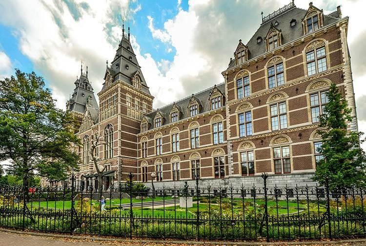 Rijksmuseum Amsterdam ciekawostki o Amsterdamie Holandia  atrakcje