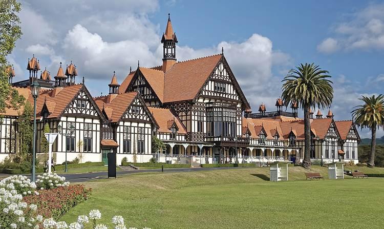 Rotorua Nowa Zelandia ciekawostki