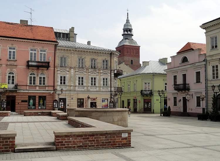 rynek Piotrków Trybunalski ciekawostki