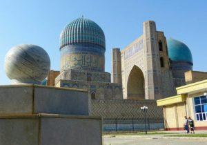 Samarkanda meczet Uzbekistan ciekawostki atrakcje