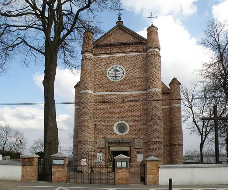 Serock ciekawostki kościół atrakcje zabytki