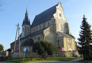 Skalbmierz ciekawostki kościół zabytki