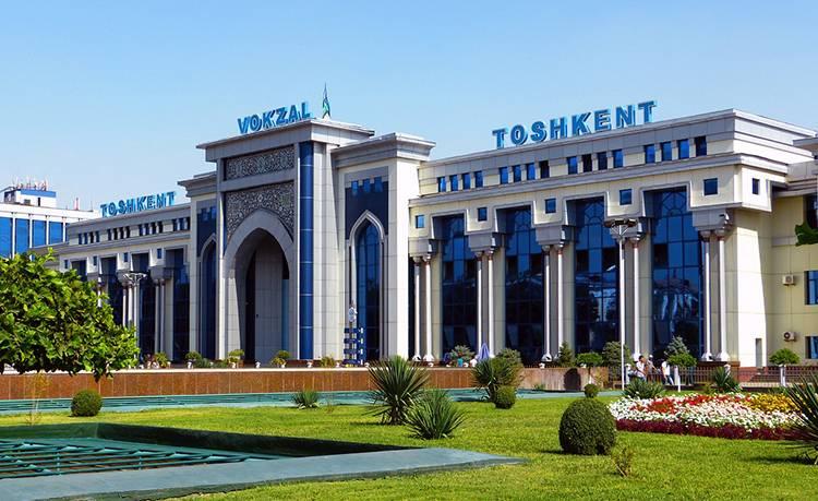 Taszkient dworzec kolejowy Uzbekistan ciekawostki atrakcje