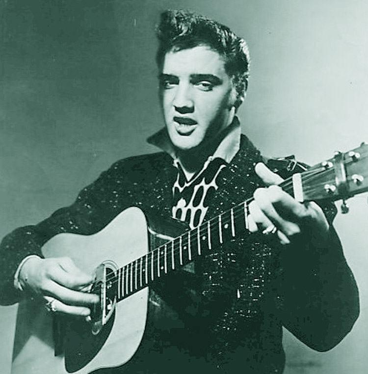 1956 ciekawostki Elvis Presley gitara piosenki