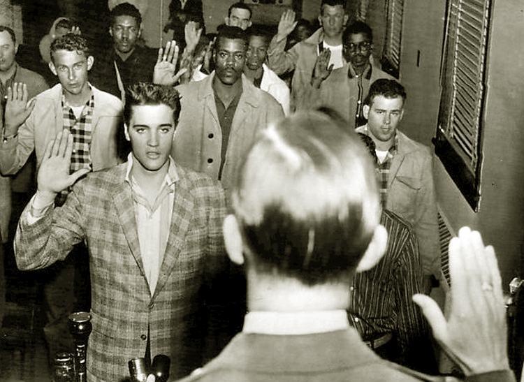 1958 wojsko armia USA ciekawostki Elvis Presley