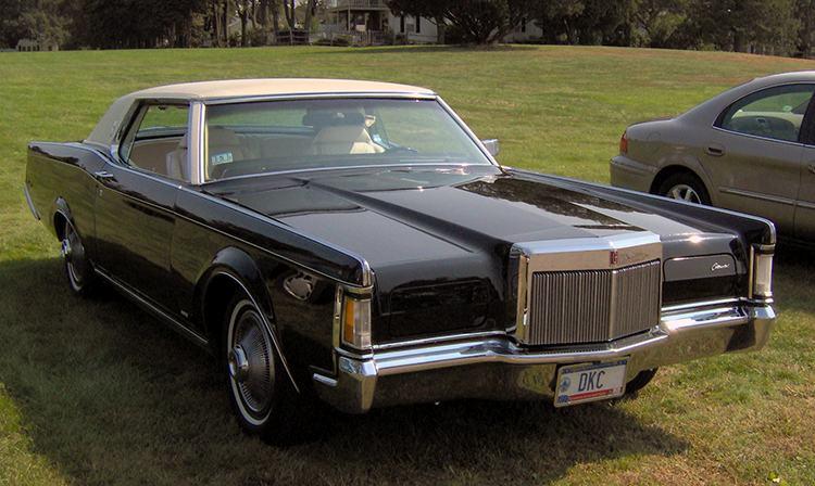 Lincoln Continental III 1969 klocki hamulcowe ciekawostki historia motoryzacja samochody