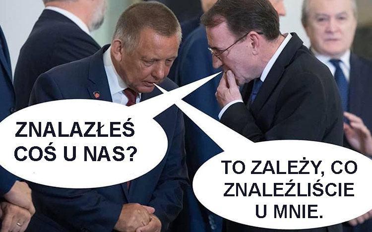 śmieszne memy polityczne PiS wybory Duda humor polityczny satyra Banaś Kamiński