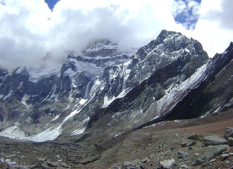 góra szczyt Aconcagua południowa ściana Argentyna ciekawostki