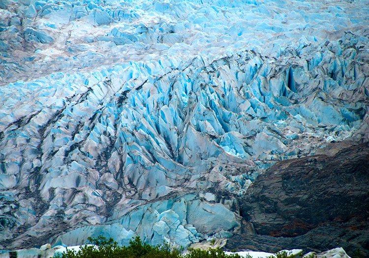 Alaska lodowiec ciekawostki o lodowcach lodowce