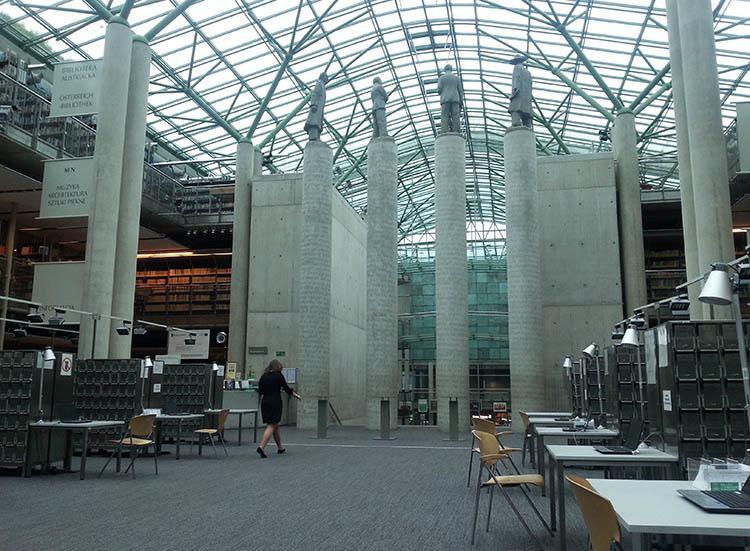 Biblioteka Uniwersytetu Warszawskiego ciekawostki Warszawa
