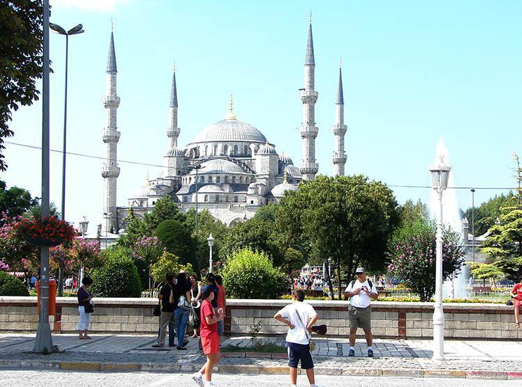 Błękitny Meczet Stambuł ciekawostki atrakcje zabytki