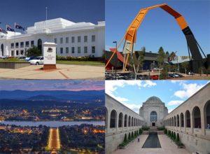 miasto Canberra ciekawostki Australia stolica zabytki atrakcje