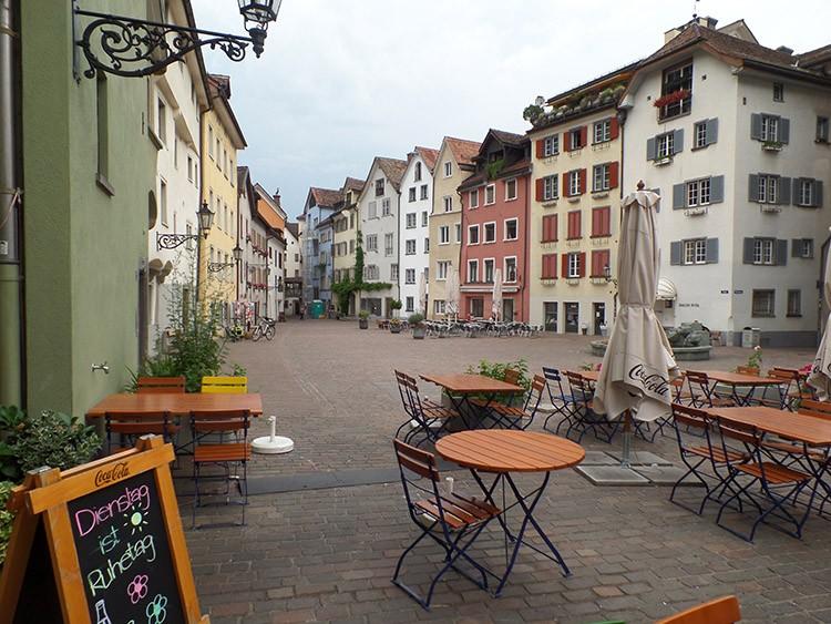stare miasto Chur ciekawostki atrakcje zabytki Szwajcaria