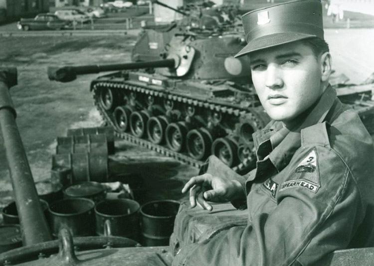 Niemcy wojsko armia USA ciekawostki Elvis Presley