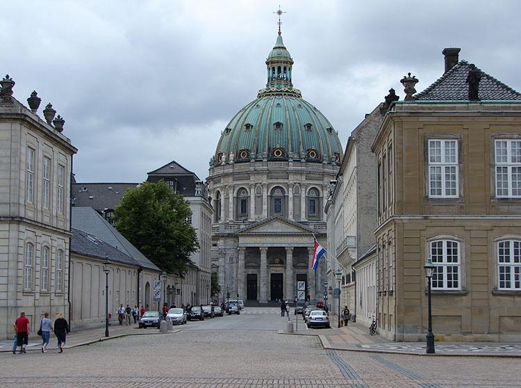 Friederikskirke marmurowy kościół Kopenhaga ciekawostki atrakcje zabytki Dania