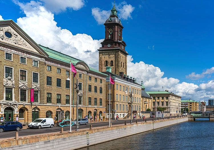 arsenał muzeum miejskie Goteborg atrakcje zabytki Szwecja