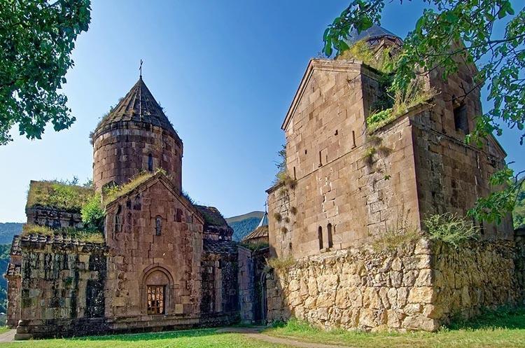 Goszabank klasztor Armenia ciekawostki zabytki atrakcje historia