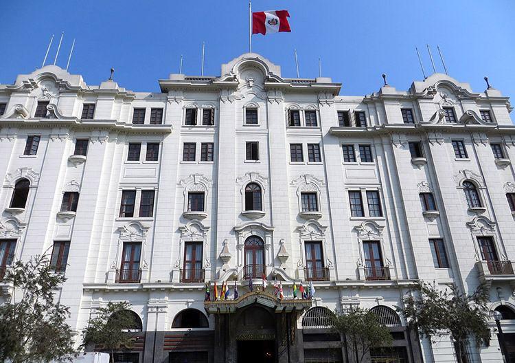 Gran Hotel Bolivar Lima ciekawostki Peru atrakcje zabytki