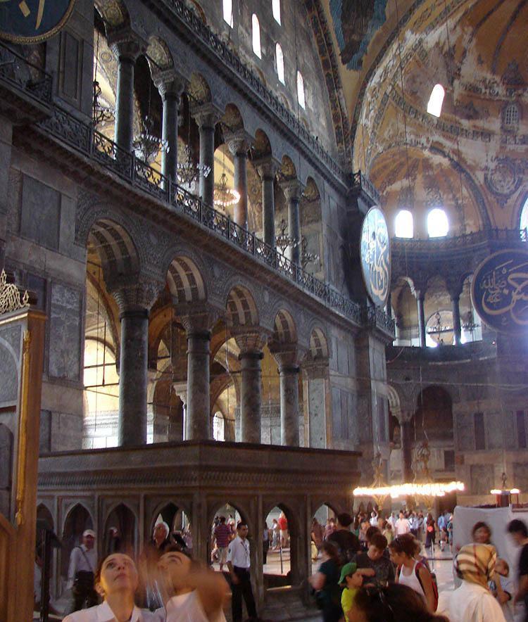 Hagia Sofia Stambuł ciekawostki atrakcje zabytki