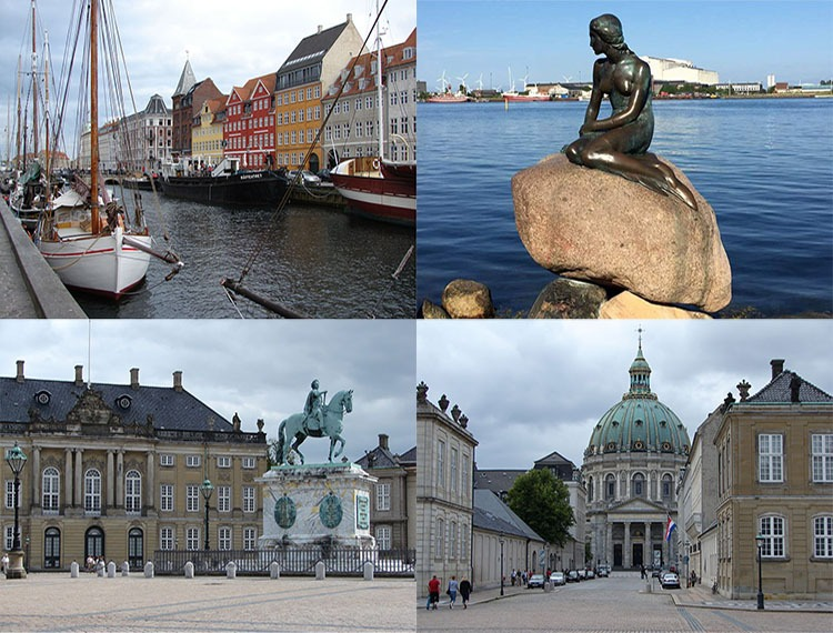 Kopenhaga ciekawostki atrakcje zabytki Dania