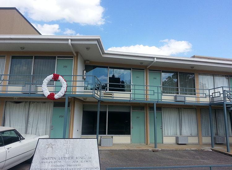Lorrainee motel Memphis ciekawostki Martin Luter Tennessee USA