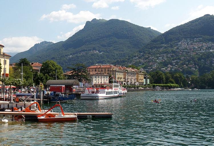 jezioro Lugano ciekawostki atrakcje Szwajcaria