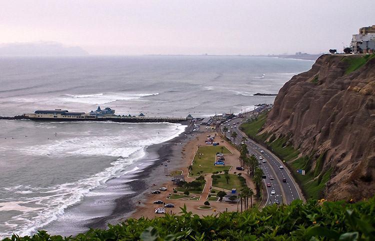 Miraflores dzielnica Lima ciekawostki Peru atrakcje zabytki