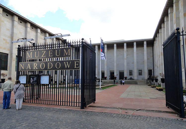 Muzeum Narodowe Warszawa ciekawostki