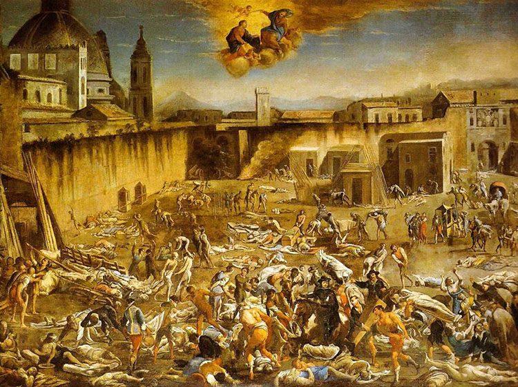 Neapol epidemia dżumy 1656