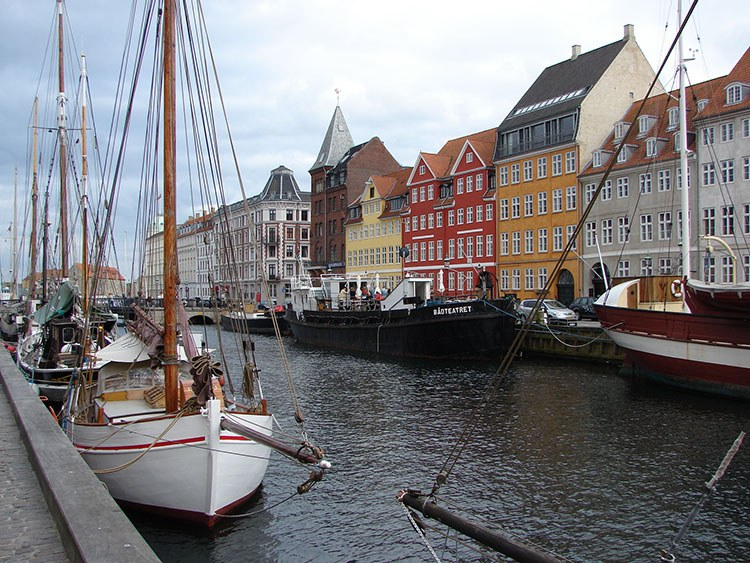 Nyhavn Kopenhaga ciekawostki atrakcje zabytki Dania