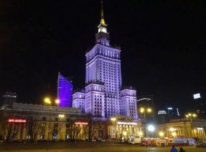 Pałac Kultury i Nauki Warszawa ciekawostki stolica Polski