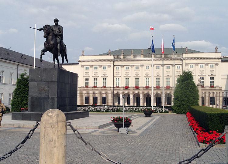 Pałac Prezydencki Warszawa ciekawostki