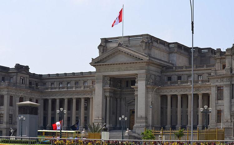 Pałac Sprawiedliwości Lima ciekawostki Peru atrakcje zabytki