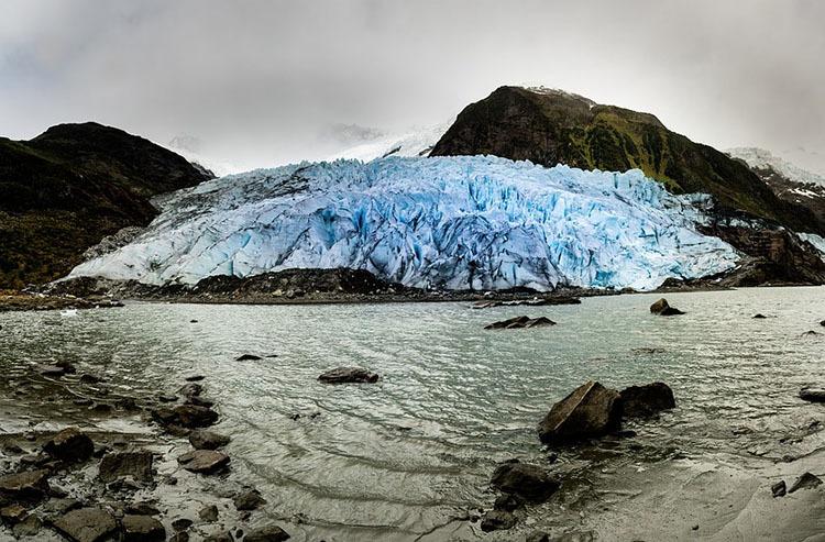 Patagonia Chile lodowiec lodowce ciekawostki